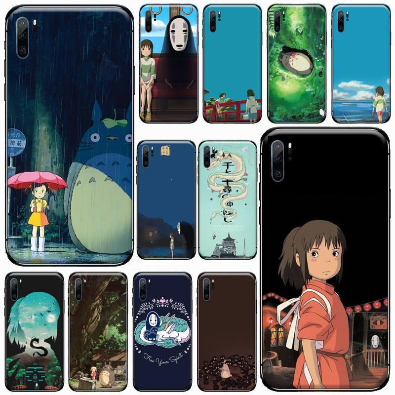Japan cartoon Totoro Spirited Away Phone Case For Huawei honor Mate mate P 10 9X 10i 20 30 40 y7 lit