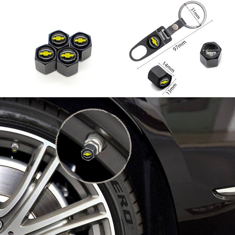 Универсальная крышка клапана автомобильных деталей, крышка клапана автомобильной шины подходит для Chevrolet-, может использоваться как брелок