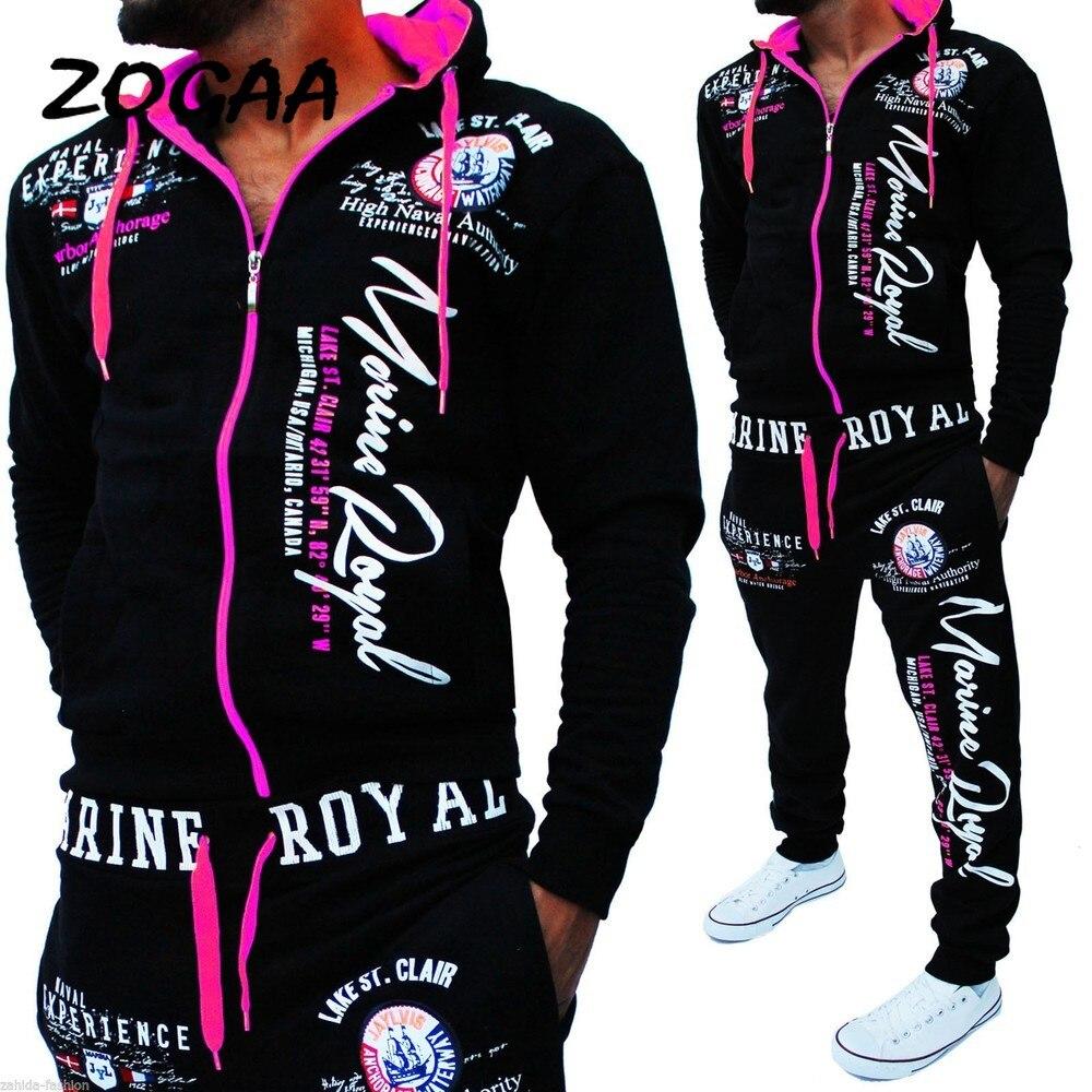 Fashion New 2021 Brand Tracksuit Fashion Men/Women Sportswear Two Piece Sets All Cotton Fleece Thick hoodie+Pants Sporting Suit