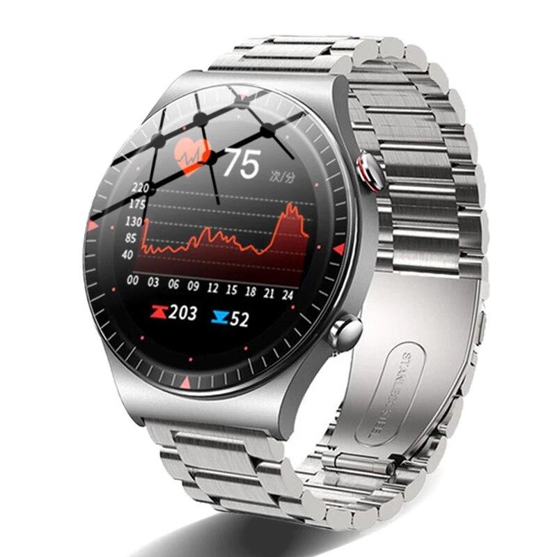 2021 Bluetooth Call Smartwatch Men Fitness Tracker 4G Memory Card Music Player 260mAH Large battery