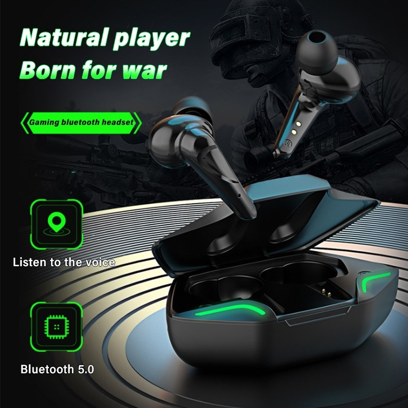 OIMG Winner Gaming Earbuds 65ms Low Latency TWS Bluetooth Earphone with Mic Bass Audio Sound Positio