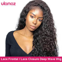 Full 360 Lace Frontal Wig 13x4 Hd Deep Wave Frontal Wig Lace Front Human Hair Wigs For Women Human H