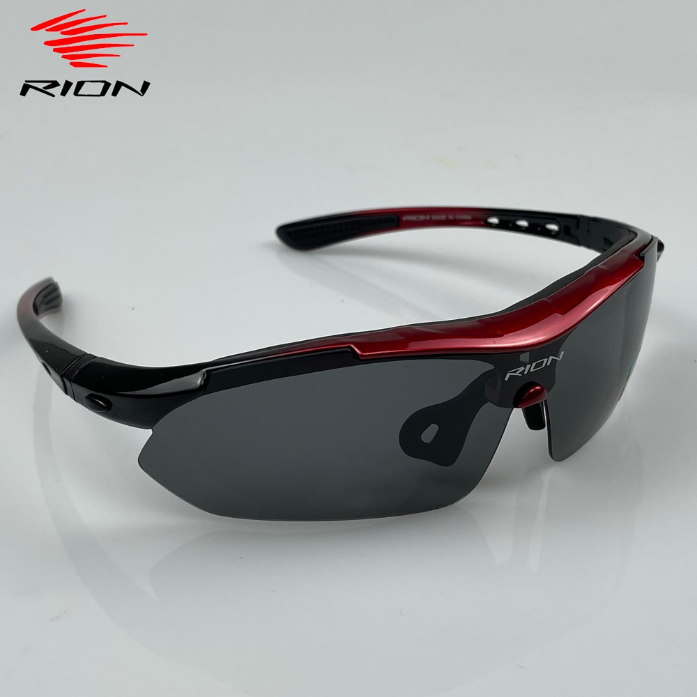RION Men Polarized Cycling Glasses MTB Road Cycling Eyewear Protection Goggles Outdoor Sports Bicycl