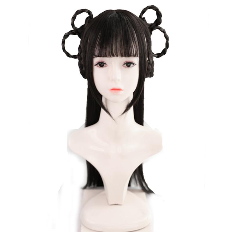 70cm schöne chinesische antike prinzessin haar produkte Firma Film liefert anime lolita cosplay headwear geburtstag party geschenke
