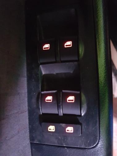 Controle mestre do interruptor da janela do lado do motorista do carro de faroechi para 98-05 audi a6 c5 novo