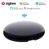 Hub de controle a distance avec wi-fi infrarouge  fonctionne avec lapplication Tuya Smart Life  automatisation  Assistant Google Home Alexa