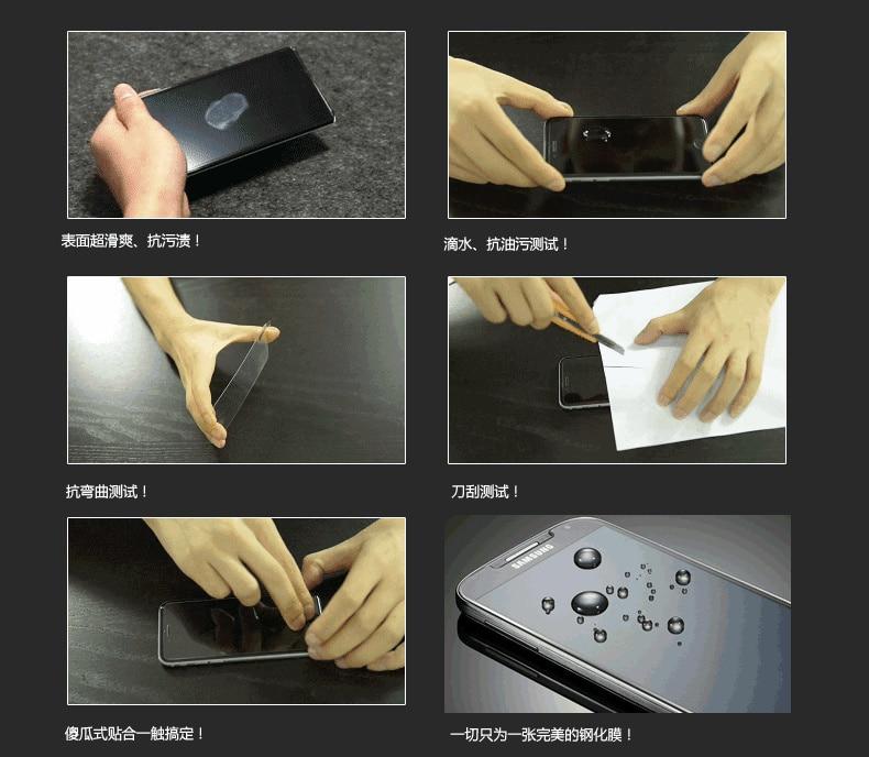 Vitre film protection d'cran en VERRE TREMPE For Samsung Galaxy S6 Avant + Arriere
