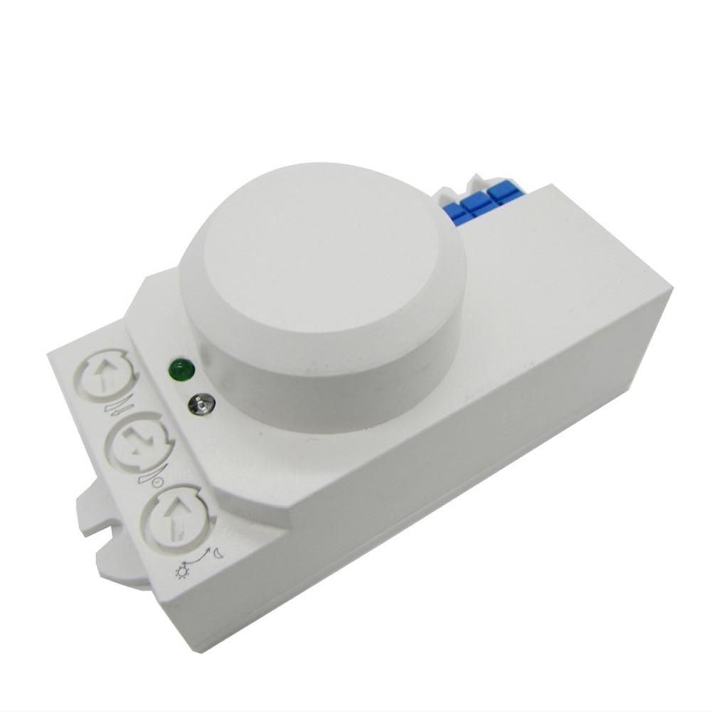 220V 5.8GHz Home Energy-Saving Sensor Switch Detector Motion Metal Movement Security Durable Radar Microwave Oven Intelligence