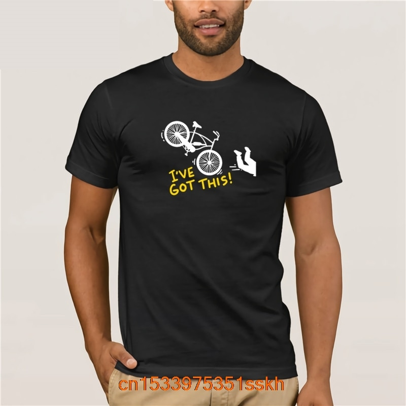 2020 Summer FashionMtb I ve Got This Biker Outdoor Gift T Shirt Humor Summer Awesome Letters Black Shirt