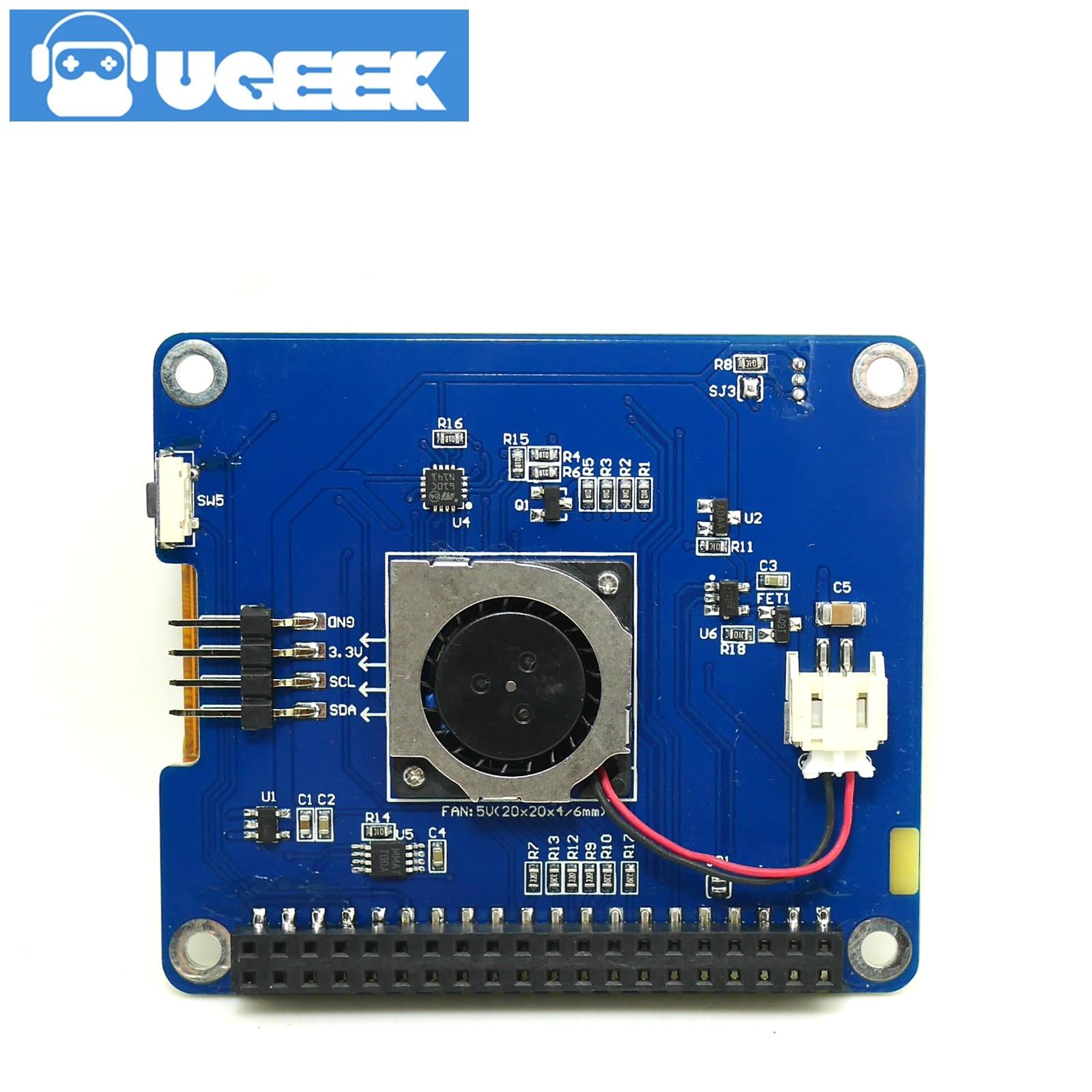 شاشة TFT تعمل باللمس 2.4 بوصة مع مروحة لتوت العليق Pi 4B/3B +/3B | شاشة تعمل باللمس | صندوق قابل للحمل المعدني |