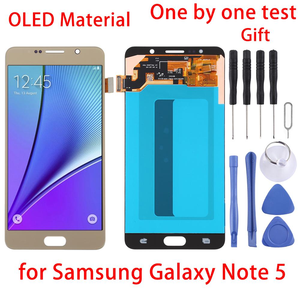 Original N920I N920G N920G/DS N920T N920A LCD Für Samsung Galaxy Note 5 LCD Display Touchscreen mit Rahmen digitizer Montage