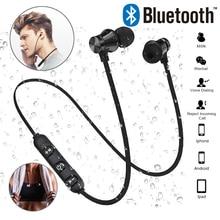 Auriculares inalámbricos XT11 para música, cascos deportivos con Bluetooth 4,2, con micrófono, resistentes al agua, para IPhone 6, 7, XR y Xiaomi