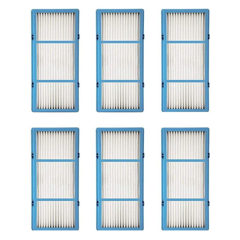 6Pcs Suitable for Holmes AER1 Series Filter HEPA Full Air Filter HAPF30AT High Efficiency Filter,Blue