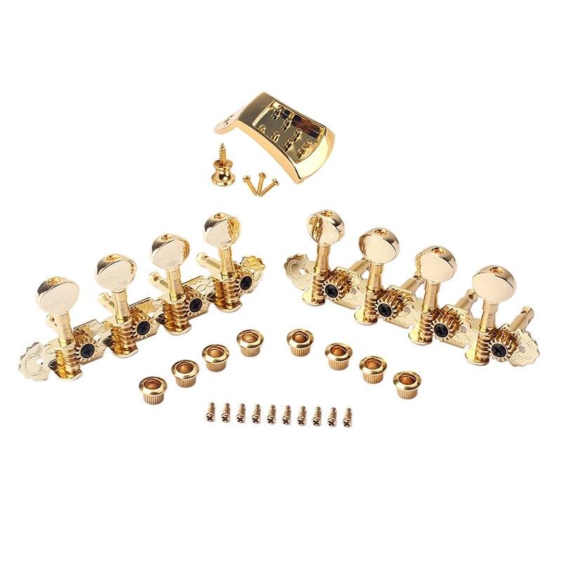 دائم الذهبي 8 سلاسل مندولين ضبط مفاتيح المستقبلون مع مجموعة الخياطة Accessory بها بنفسك ملحق آلة موسيقية