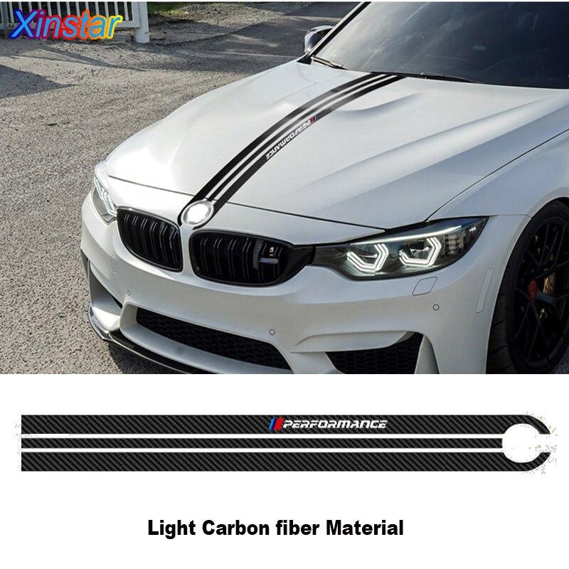 De fibra de carbono cabeza de coche pegatina para bmw M E30 E34 E36 E39 E46 E53 E60 E61 E64 E70 E71 E85 e87 E90 E83 F10 F20 F21 F30 F35