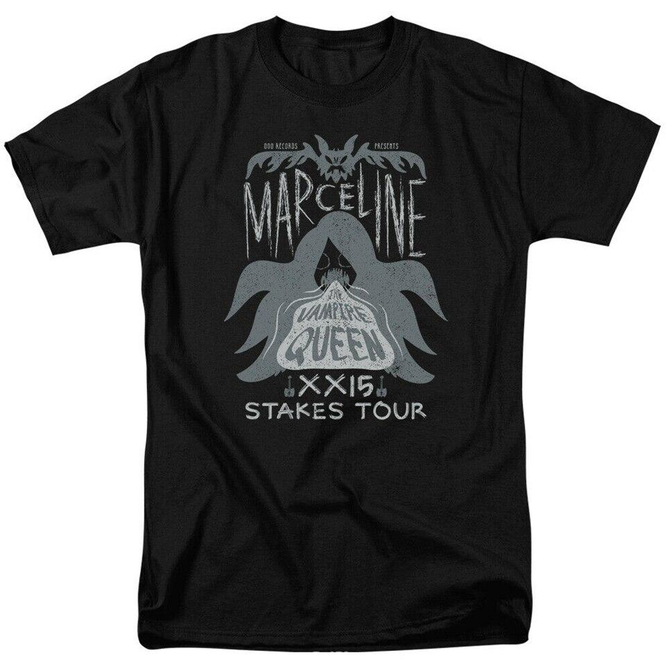 Adventure Time Marceline Konzert Lizenzierte Erwachsene T-Shirt Anpassen T Shirt