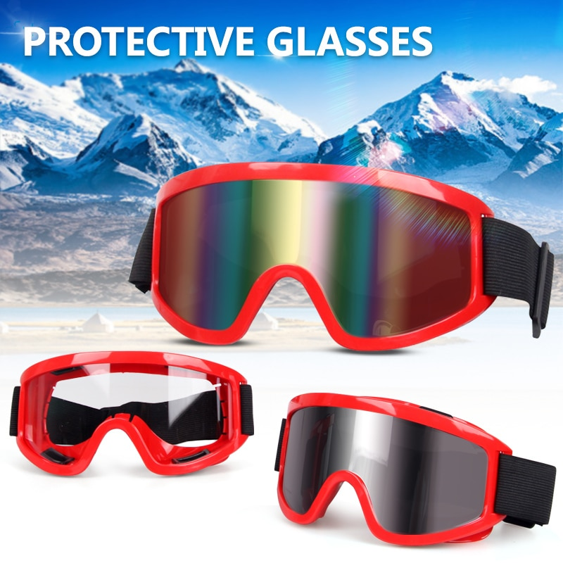 Motorcycle Sunglasses Outdoor Protective Glasses Goggles ATV Motocross Glasses ATV Motorcycle Helmet Goggles motorcycle atv riding scooter driving flying protective frame clear lens portable vintage helmet goggles glasses for 2009 buell xb12r