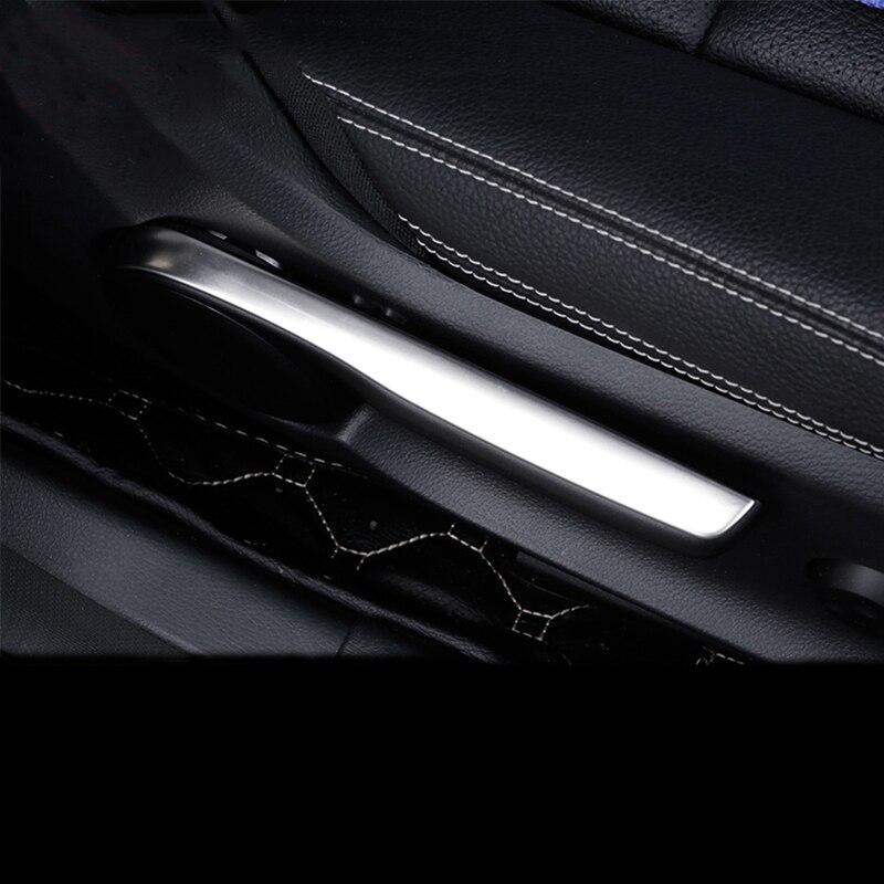Carro-estilo interior assento ajuste capa guarnição tiras 3d adesivo para mercedes benz a b classe cla gla w176 w246 c117 acessórios