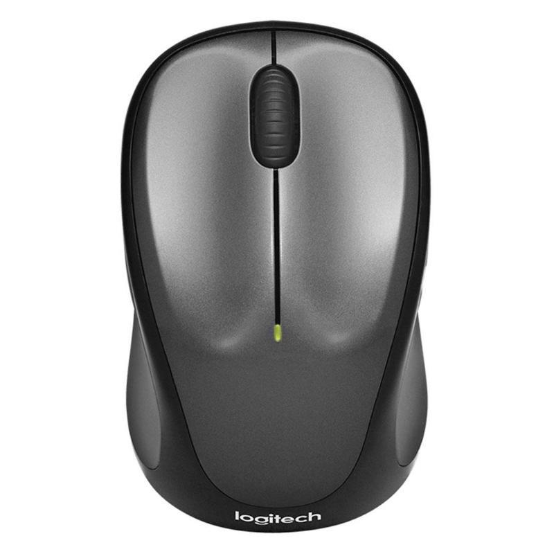 Logitech m235 usb sem fio unificando o rato do jogo do receptor para lol 1000 dpi 2.4 ghz 3 botões jogos óticos ratos para computador portátil