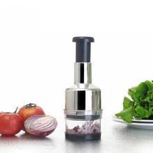 1Pc oignon chopper main pression ail oignon Cutter hacher tomate concasseur fruits légumes outils maison cuisine Gadgets
