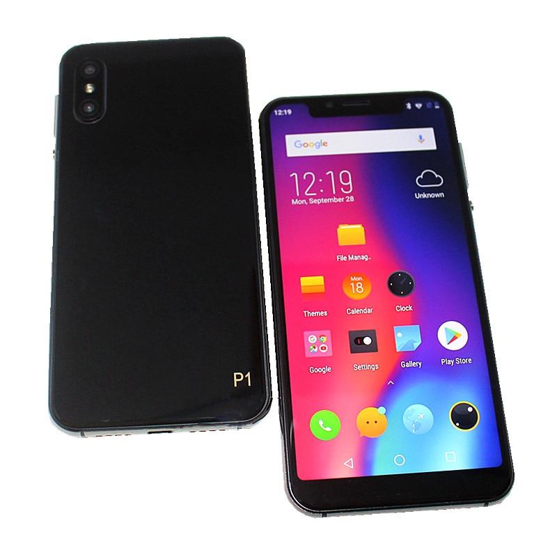 A4 P1 5.85 بوصة الذكية الهاتف المحمول المزدوج سيم بطاقات 4G LTE 3GB + 16GB الروبوت 8.1 MTK6739 رباعية النواة 1512*720 بكسل IPS