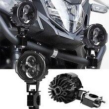 Moto faro fendinebbia Led luce di guida ausiliaria per Honda-Kawasaki-Suzuki BMW-R1200GS F800GS F700GS fendinebbia anteriore.