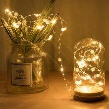 Thrisdar 10M 100 LED perle chaîne fée lumière de mariage vacances lumière batterie alimenté saint valentin fête noël guirlande lumineuse
