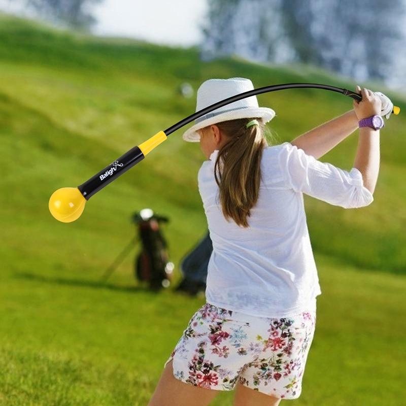 Golf Swing Trainer Warm-Up Stick Beginner Alignment Golf Clubs Gesture Correct Wrist Training Aids Tools Golf Accessories USA