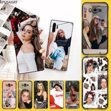 Kpusagrt Populaire Internet Beroemdheden Addison Rae Telefoon Case Voor Samsung Note 7 8 9 10 Lite Plus Galaxy J7 J8 j6 Plus 2018 Prime
