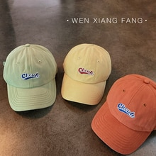 Hat Women's Korean-Style All-Match Summer Face-Looking Small Peaked Cap Ins Fashion Brand Baseball C