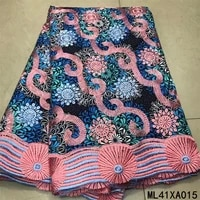 beautifical nigerian lace fabrics material prints ankara african wax laces high quality lace prints for dress ml41xa001 15
