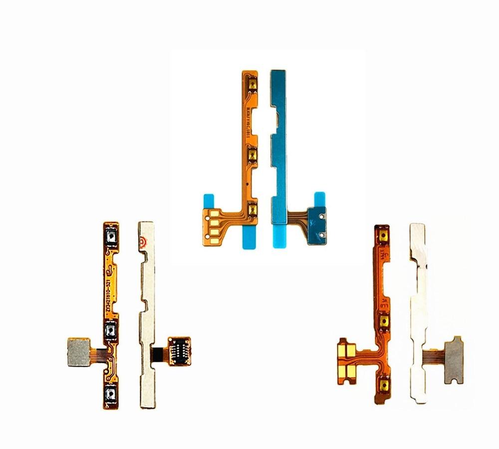 Para Huawei Mate 7 8 9 encendido apagado volumen Up Down interruptor botón en el lateral Cable Flex cinta para Huawei Honor 6 plus 7 8 9 10 Lite