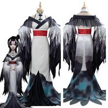 Jeu identité V Cosplay Costumes la Geisha Michiko Cosplay Costume Kimono Halloween fête Anime femmes carnaval Costume personnalisé