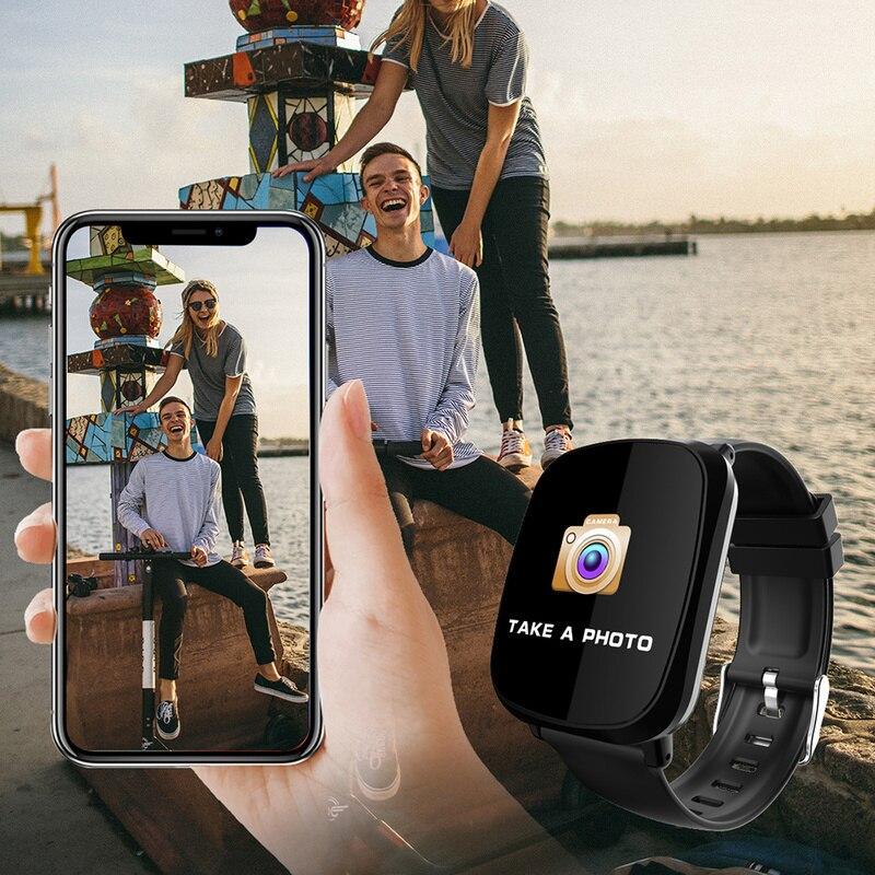 Nuevo reloj inteligente para hombre, para mujer, Monitor de ritmo cardíaco, Monitor de presión arterial, rastreador de Fitness, reloj deportivo Smartwatch para IOS Android Dropshipping