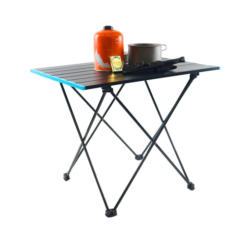 Кемпинг стол Портативный открытый Алюминий складной стол для барбекю, кемпинг стол для пикника Раскладные столы