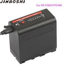 1 pièces NP F960 NP-F970 NP-F960 NP-F980 NP F980 NP F970 Batteries avec alimentation LED Indicateur pour SONY HVR-HD1000 HVR-HD1000E HVR-V1J