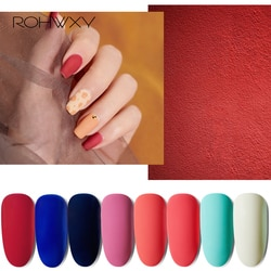 Rohwxy 190 cores gel de unhas para manicure 15ml híbrido verniz embeber fora unha polonês uv duradouro gel polonês para ferramentas da arte do prego