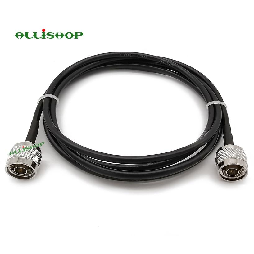 N Male to N Male Низкая потеря LMR195 кабель удлинитель антенна для 4G LTE сотовый усилитель сотовый телефон усилитель сигнала WiFi ретранслятор