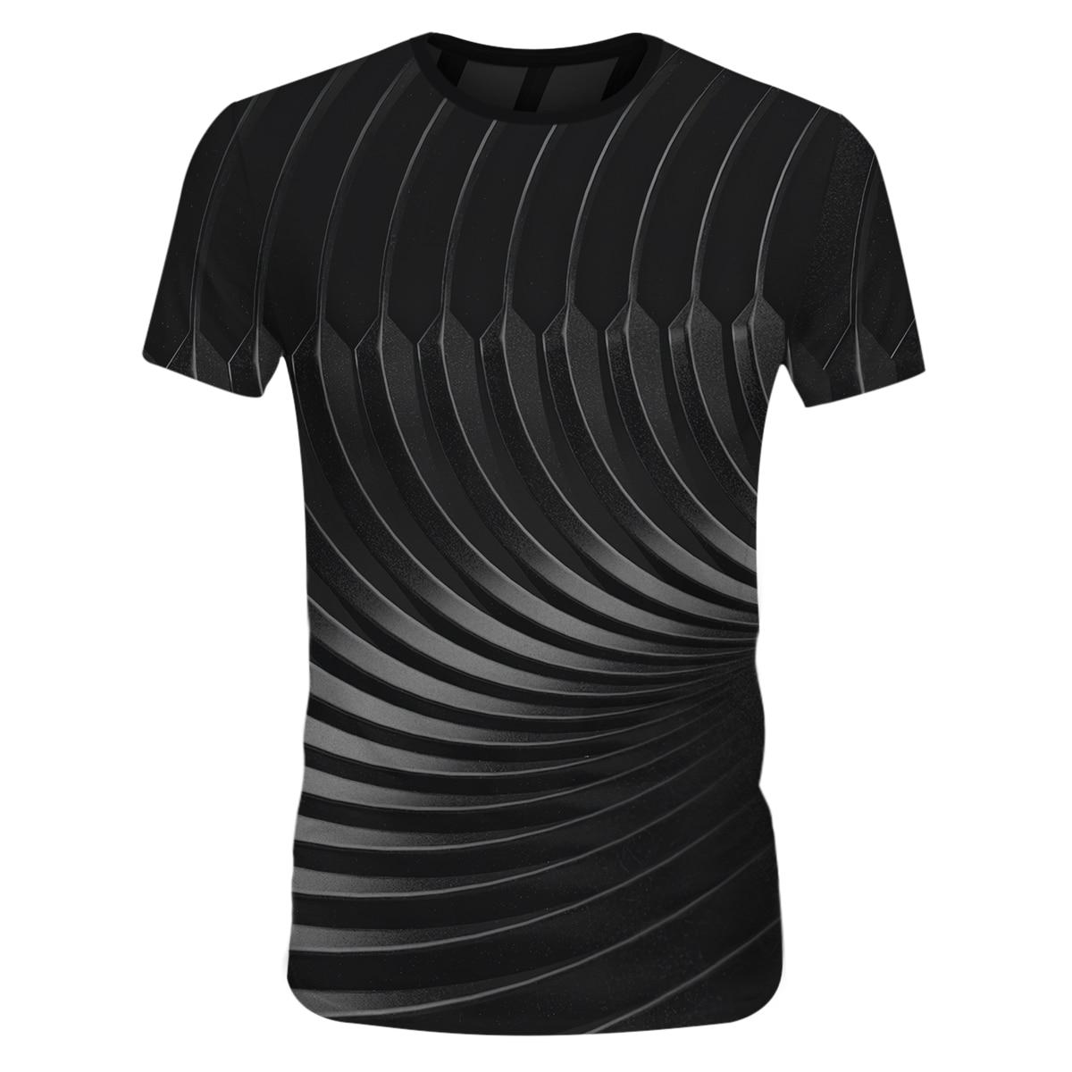 Cloudstyle мужские футболки с 3D принтом геометрические Короткие рукава крутые летние футболки для мужчин Harajuku повседневные Хип-хоп футболки 2021 ...