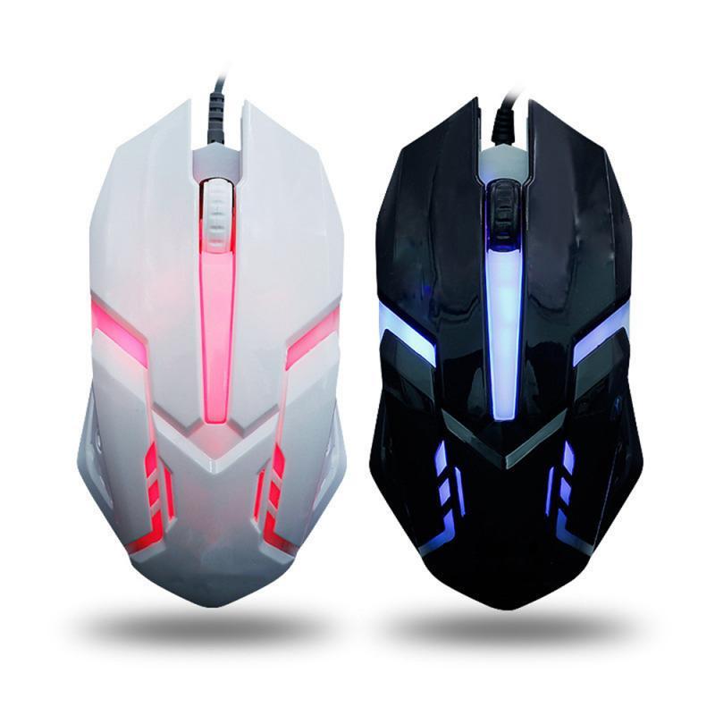 Игровой Мышь геймер Проводная эргономичная Мышь светодиодный компьютерный Мышь USB Photoelectric PC Мыши мышка с подсветкой Мышь цветная мышь Мышь ...