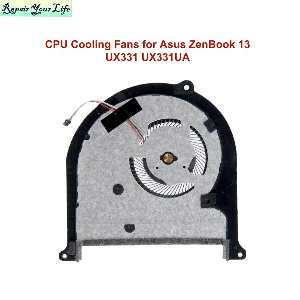 Кулеры для ноутбуков Asus ZenBook 13, UX331, UX331UA, UX331UN, UX331UX, 13NB0GY0AM0101, NC55C01-17E35, 18J28