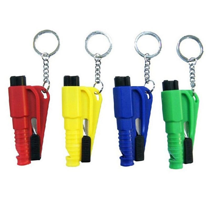 NEW 1 Mini Security Hammer Car Life saver Escape Hammer Window Keychain Car Window Broken Emergency Glass Cutter