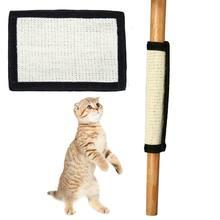 Sicher Katze Kätzchen Scratch Board Pad Sisal Spielzeug Sofa Möbel Protector Katze Klaue Pflege Produkt Katzen Katzenminze Turm Scratcher Pfote pad