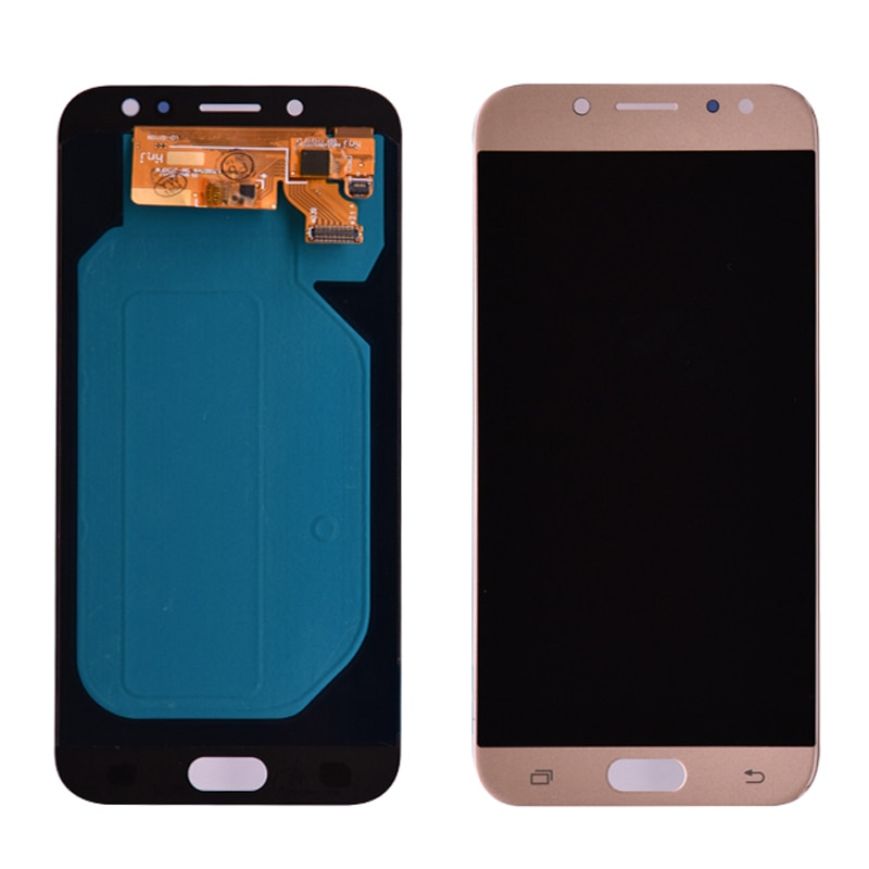 Super Amoled LCD For Samsung Galaxy J7 Pro 2017 J730 J730F LCD Display and Touch Screen Digitizer Assembly enlarge