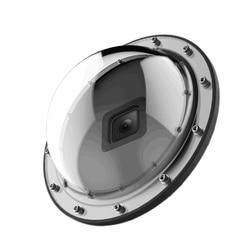 Cúpula porta capa lente capa mergulho caso à prova dwaterproof água habitação gatilho aperto dome para gopro hero 7/6/5/2018