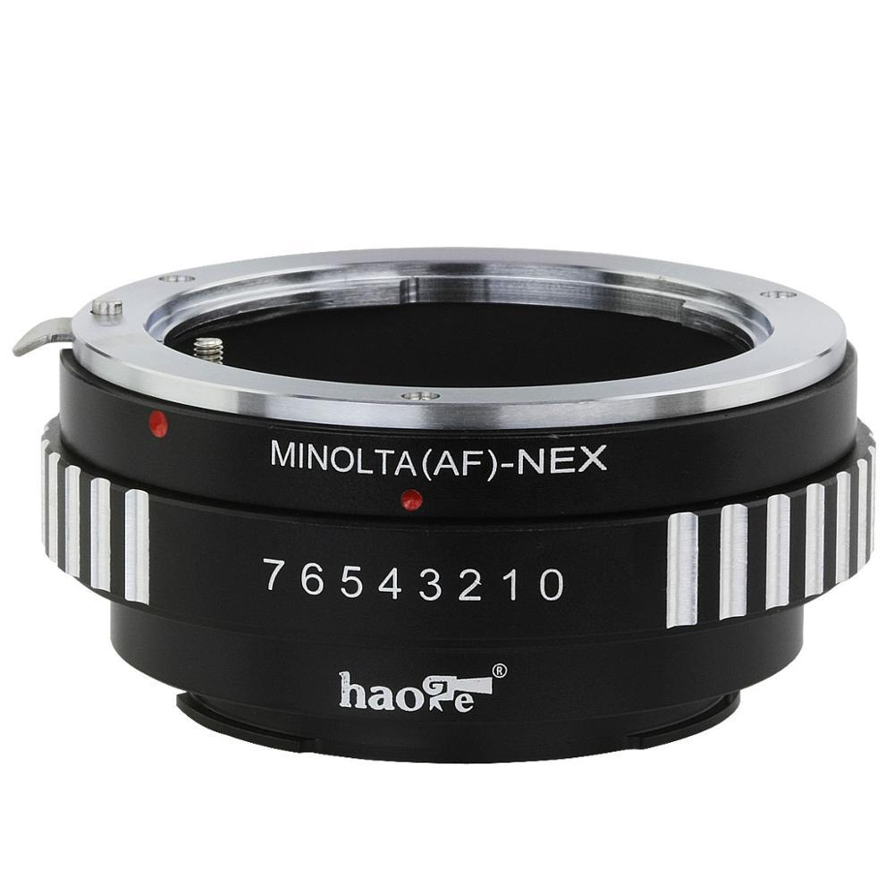 Adaptador de montaje para lentes Haoge para Sony Alpha Minolta tipo A...