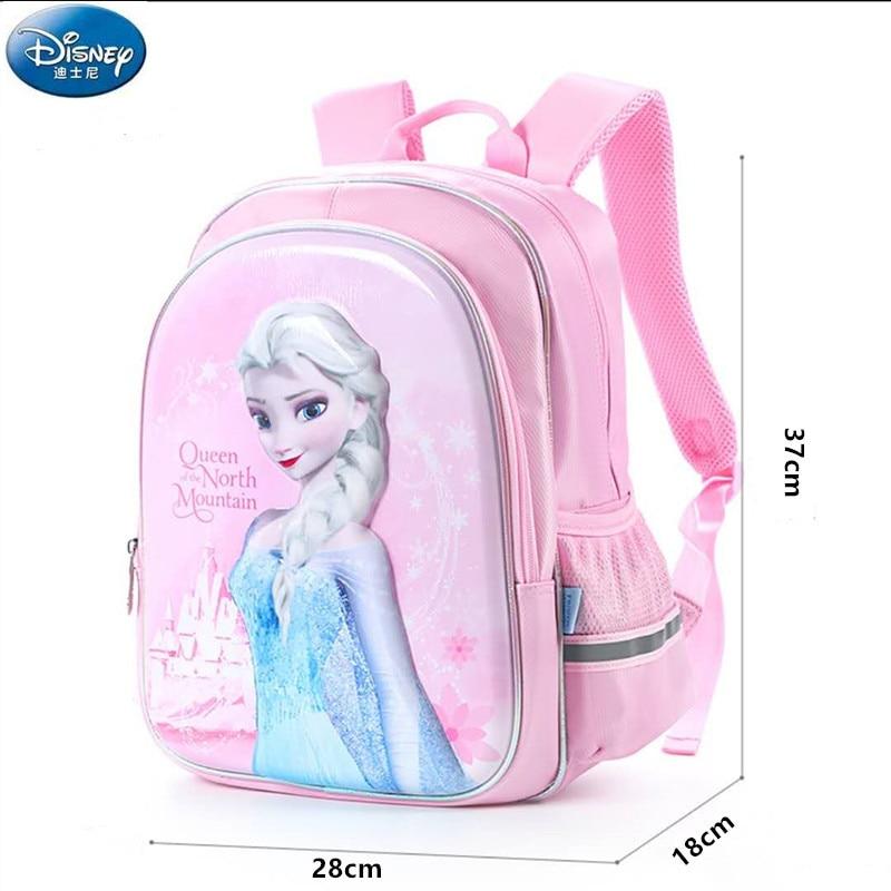 Disney Frozen Elsa Anna school bags for girls children new primary school backpack Grade 1-4 teenage girls gift mochila escolar