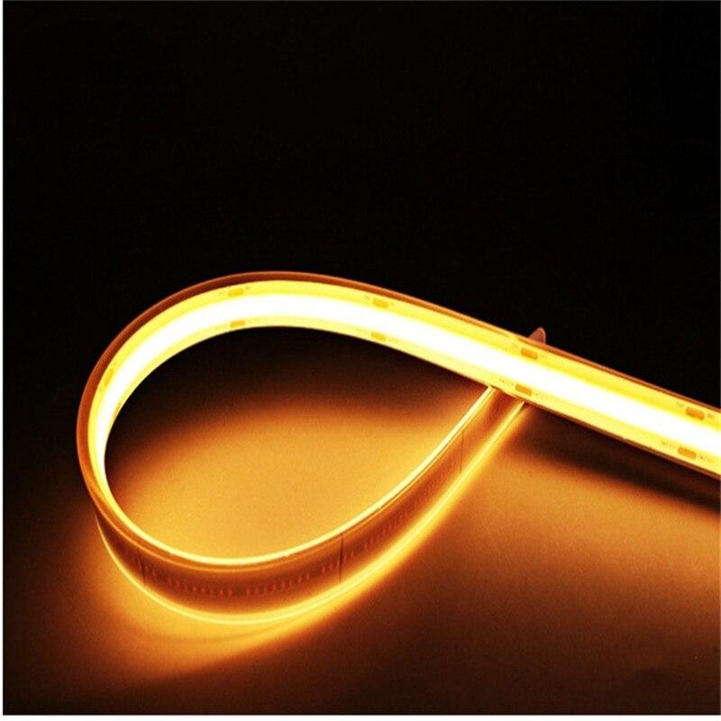 Bande de LED étanche Flexible Lighs pour chambre à coucher 5M /Roll 24v 528LEDs / M 8mm blanc chaud froid rouge vert bleu jaune