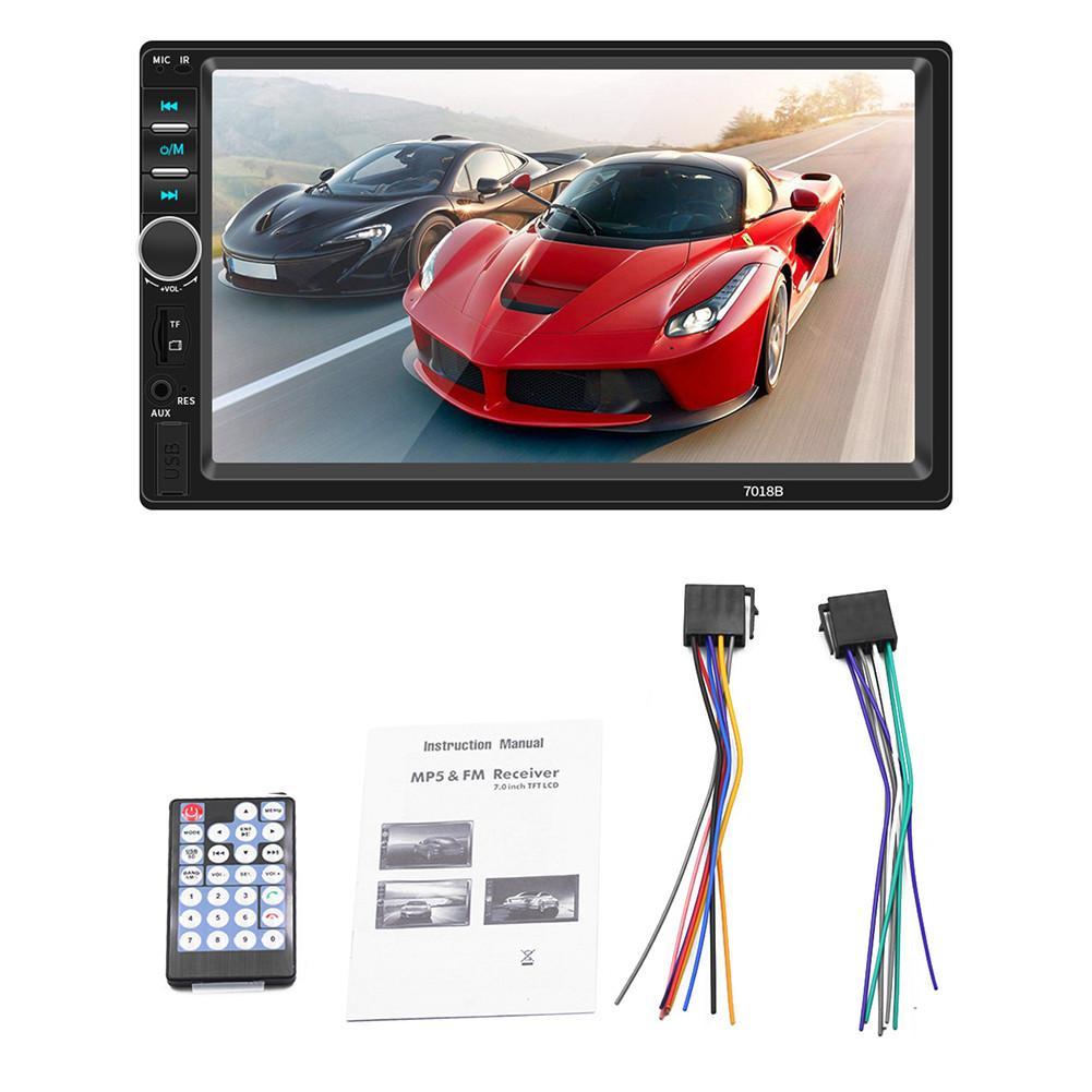 2 Din Auto Multimedia Player Autoradio Auto Bluetooth Stereo Radio Touchscreen Mirrorlink MP5 Player Mit Hinten Kamera