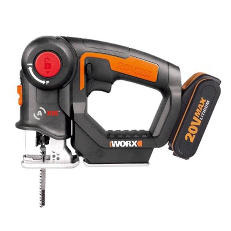 Electric Jig Saw Woodworking Jig Saw High Speed Electric Saw Cutting Metal Wood Cutting Machine Multifunctional Electric Saw